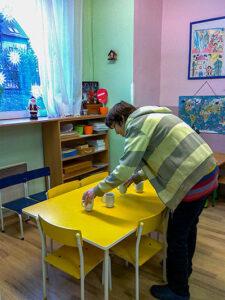 Jana připravuje třídu